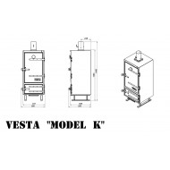 Коптильни VESTA-K на углях